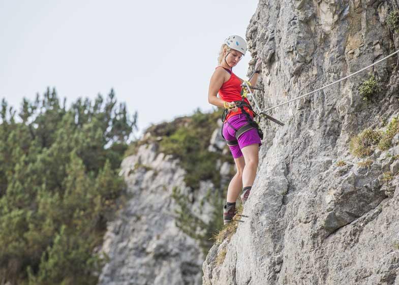Klettersteig Wilder Kaiser : Adventure magazin.de durch die klamm und übers klamml