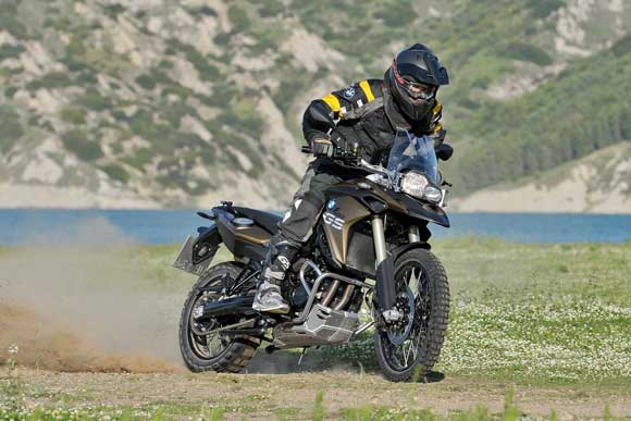 BMW F 800 GS in Aktion