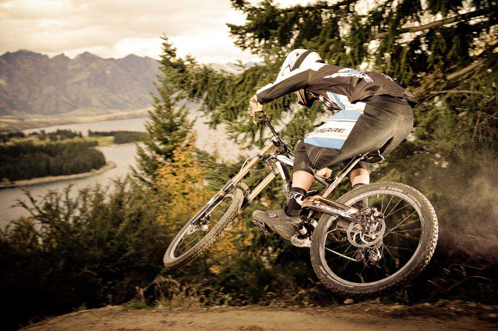 Downhill  beim Queenstown Bike Festivel