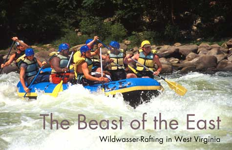 River-Rafting in West Virginia