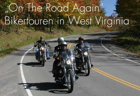 Bikertouren in West Virginia