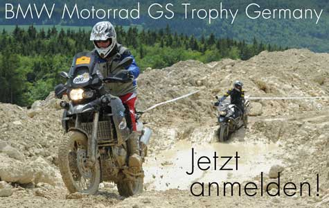 BMW GS Trophy Germany