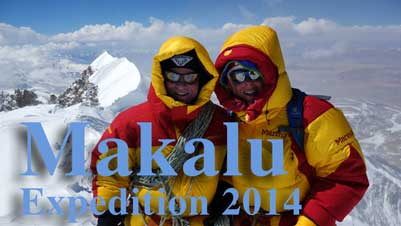 Makalu Expediion 2014