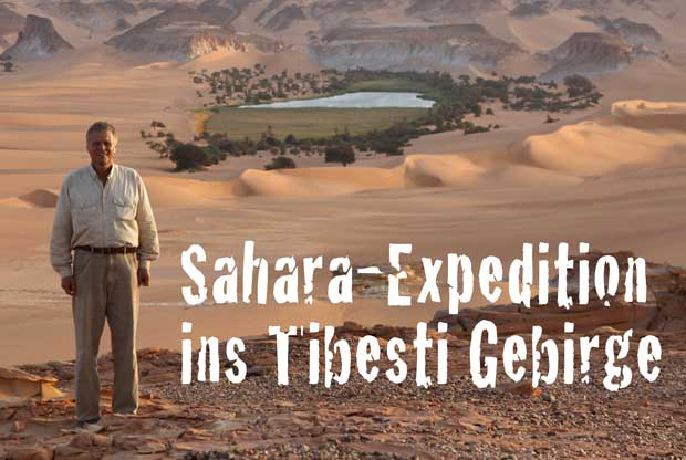 Sahara-Expedition ins Tibesti Gebirge
