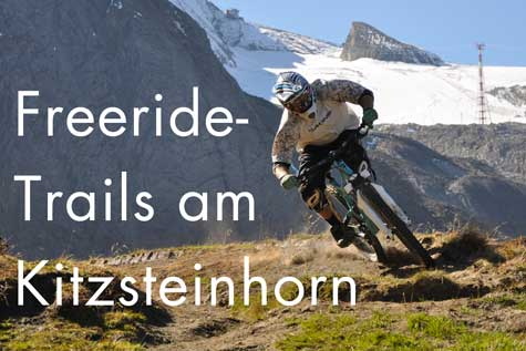 Freeride-Trails am Kitzsteinhorn