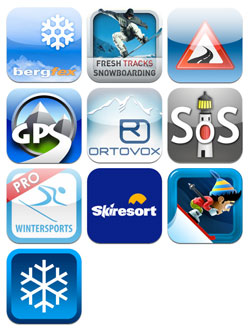 Wintersport-Apps